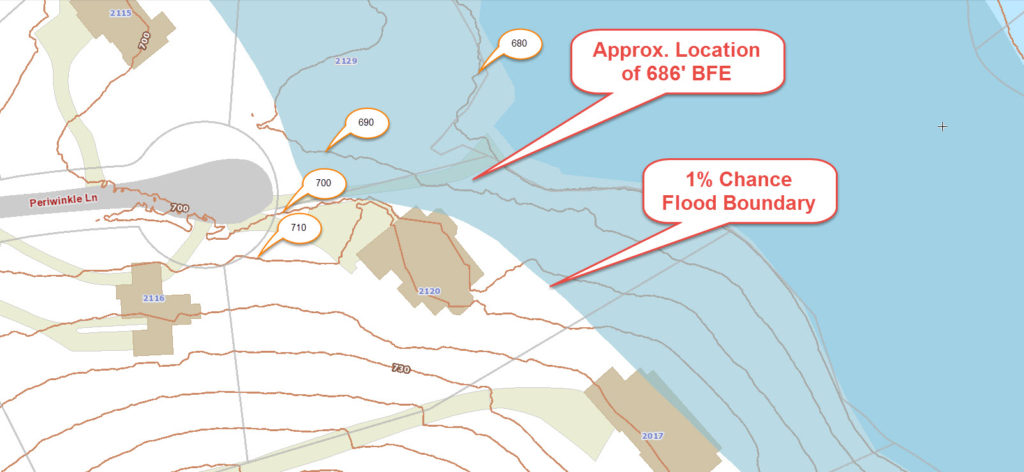 flood zone - flood map - elevation certificate